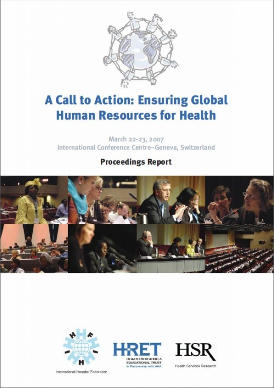 A Call to Action: Ensuring Global Human Resources for Health