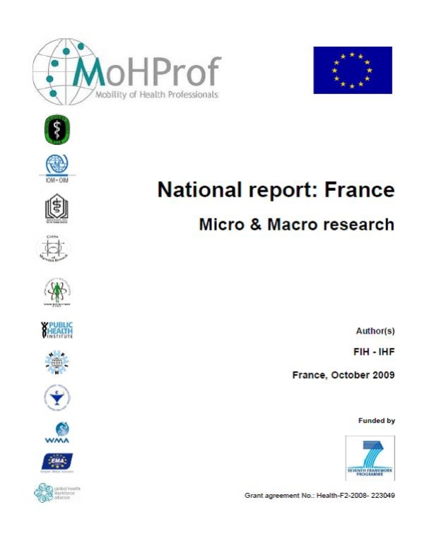 MoHProf - National Report: France