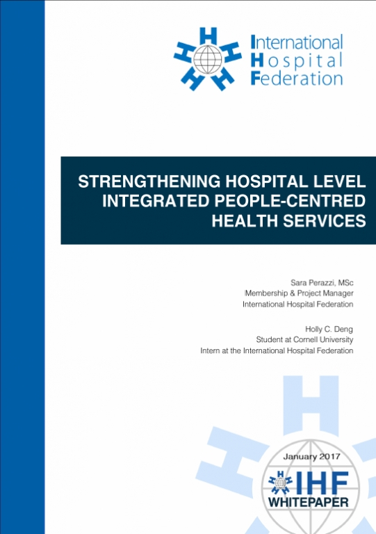 IPCHS_Strengthening hospital level integrated people-centred health services