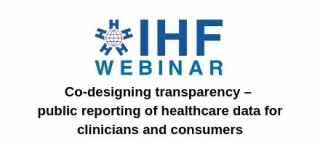 Co-designing transparency – public reporting of healthcare data for clinicians and consumers