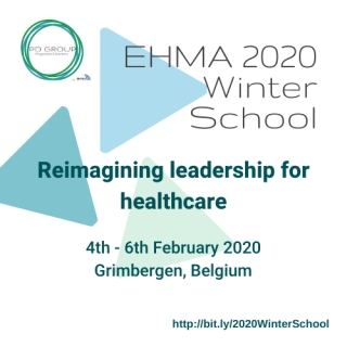 "EHMA Winter School on ""Reimagining leadership for healthcare"